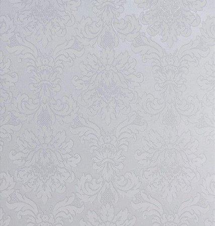 Tecido Jacquard Algodão Medalhão Branco Para Cortinas Com 2,80 de Largura - EUR27
