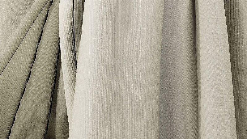 Tecido para Cortina American Florence Marfim - Largura 2,90m - AME-61