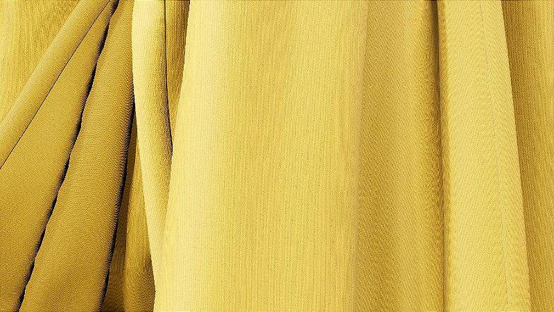Tecido para Cortina American Florence Amarelo - Largura 2,90m - AME-71