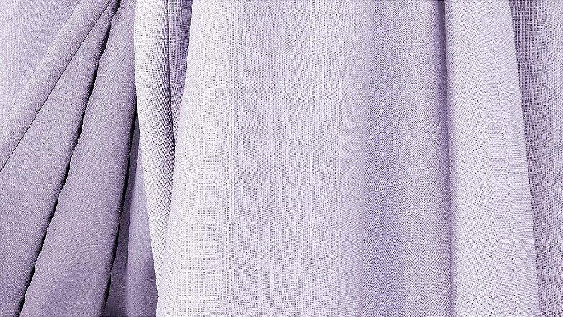 Tecido para Cortina American Oxford liso Lilas - Largura 3,00m - AME-88