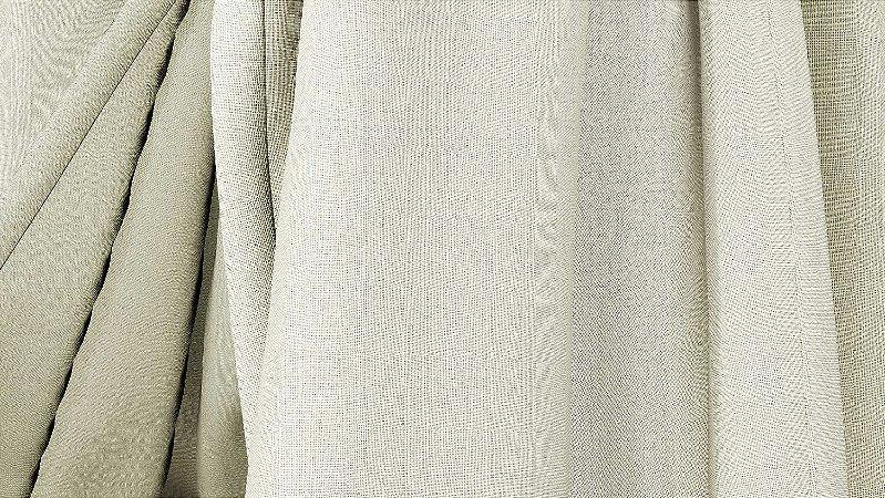 Tecido para Cortina American Oxford liso Bege Claro - Largura 3,00m - AME-85