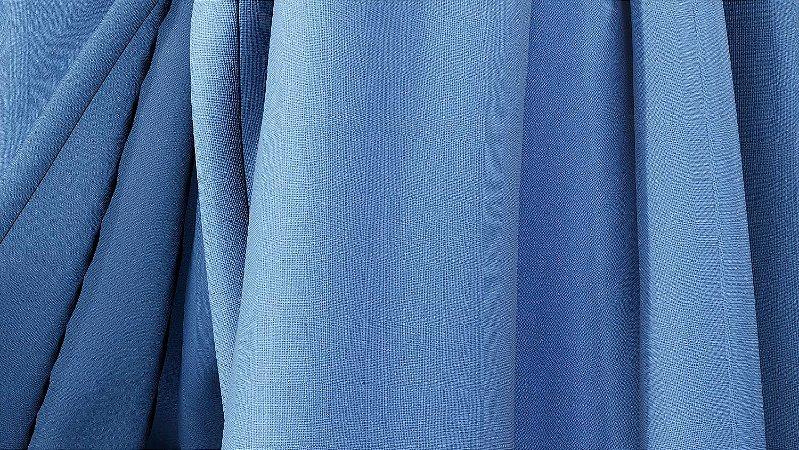 Tecido para Cortina American Oxford liso Azul Celeste - Largura 3,00m - AME-93