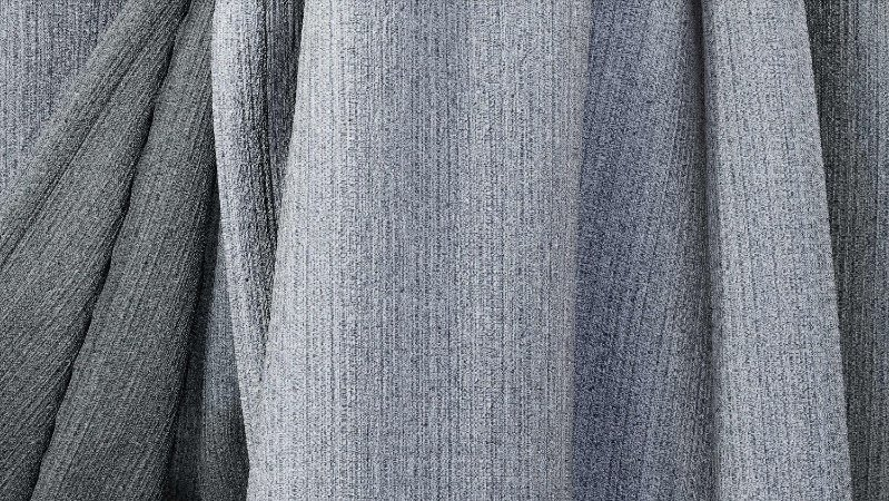 Tecido para Cortina American Rústico liso Chumbo - Largura 2,90m - AME-105
