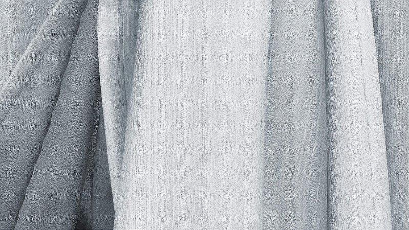 Tecido para Cortina American Chefron liso Branco - Largura 2,90m - AME-106