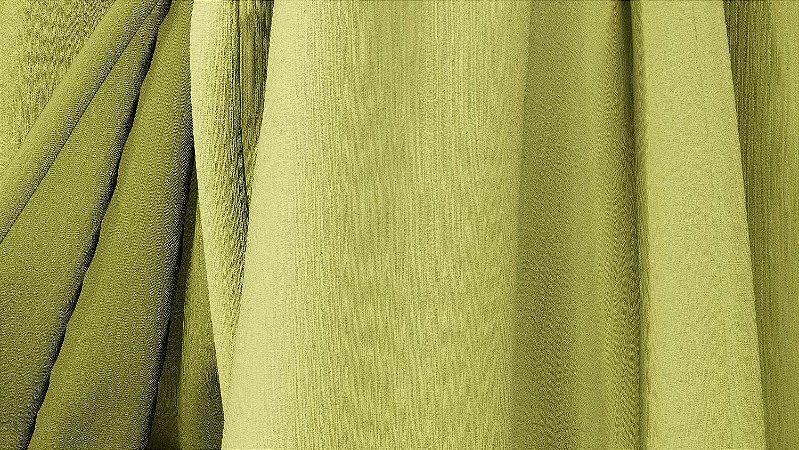 Tecido para Cortina American Chefron liso Abacate - Largura 2,90m - AME-114