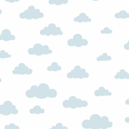 Papel de Parede Nuvens Azul - DI0976A