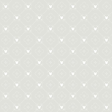 Papel de Parede Mickey Cinza - DI0980A