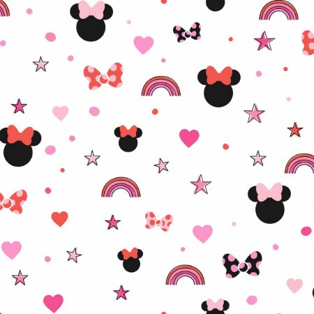 Papel de Parede Minnie Sonhos Pink - DI0992A