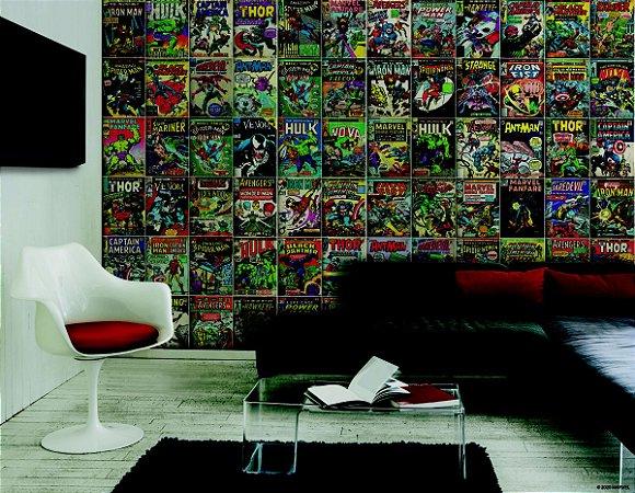 Papel de Parede Mural Marvel Gibi - RMK11410M