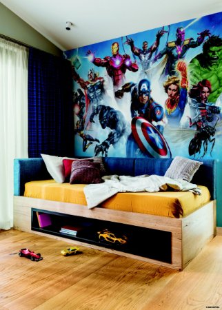 Papel de Parede Mural Vingadores - RMK11411M