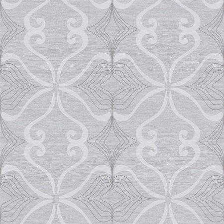 Papel de Parede Arabesco Cinza Cimento - JY10104