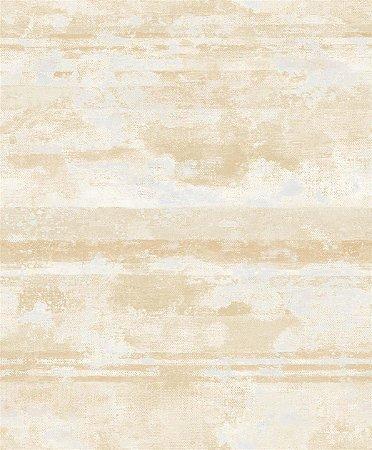 Papel de Parede Amarelo Areia Mesclado - JY10902