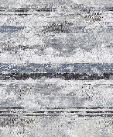 Papel de Parede Azul Cinza Mesclado - JY10906