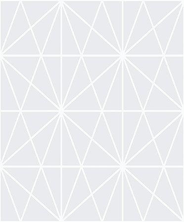 Papel de Parede Cubic-Azul Geométrico Estelar - CU87431