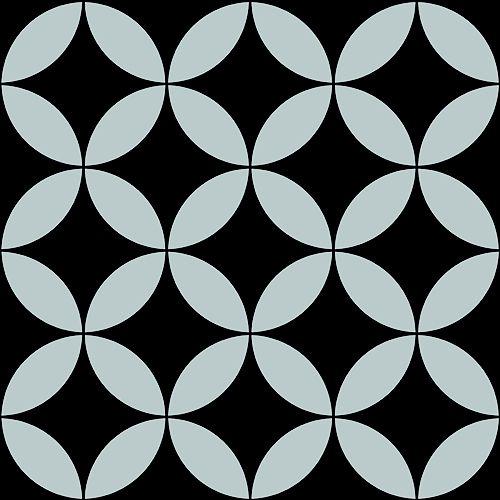 Papel de Parede Cubic- Preto - CU87414