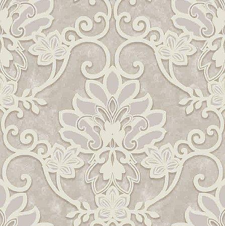 Papel de parede Florence - Brasão Bege - FR87212