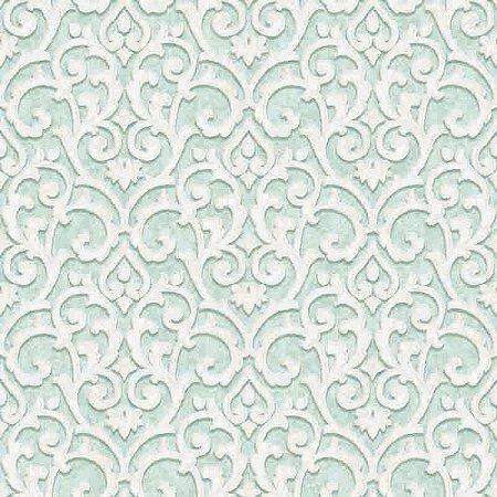 Papel de parede Florence - Arabesco Azul Marinho  - FR87227