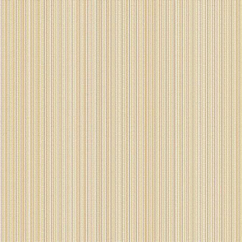 Papel de Parede Listradas Marfim e Amarelo - CW8437