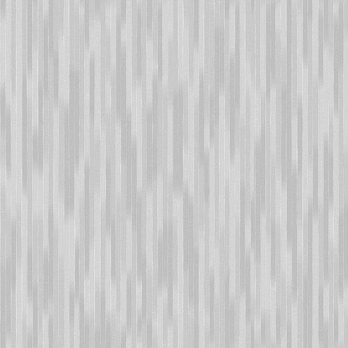 Papel de Parede Listradas Prata e Cinza - CW8452