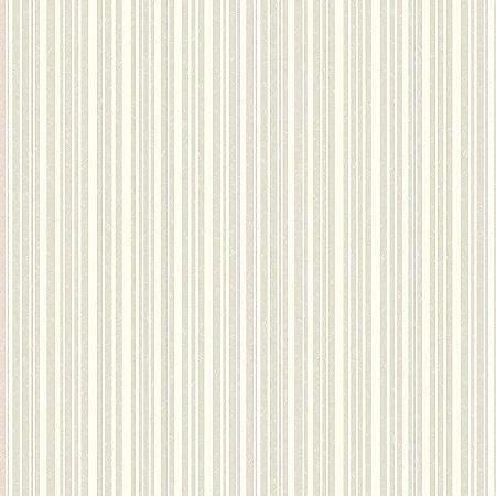 Papel de Parede Listras Creme Com Cinza - HD1852