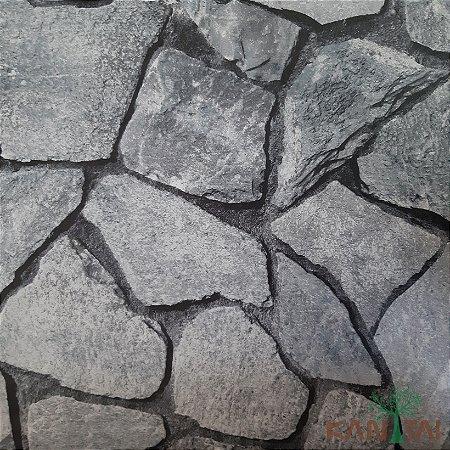 Papel de Parede Grace 3 Ladrinho Pedras - 3G201902R