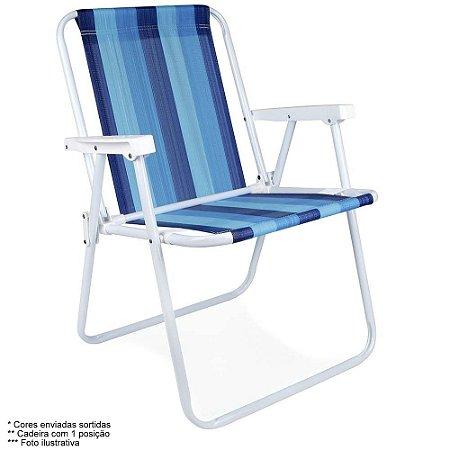 Cadeira Praia, Piscina e Camping Mor Aço 2002  Cor Sortidas