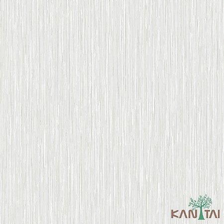 Papel de Parede Vision Marfim e Prata - VI800301R