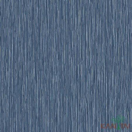 Papel de Parede Vision  Azul e Branco - VI800303R