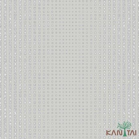 Papel de Parede Vision Cubos Prata - VI800702R