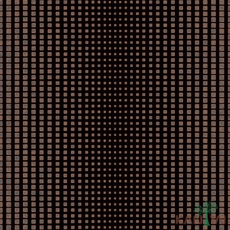 Papel de Parede Vision Cubos Marrom - VI800704R