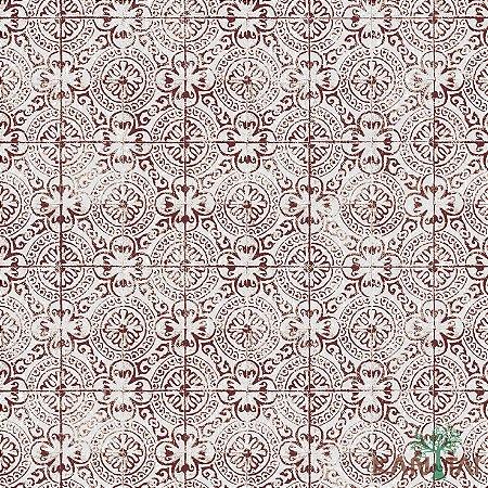 Papel de Parede Vision Pontilhado Trevo Vermelho - VI800802R