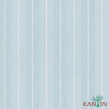 Papel de Parede Vision Listrado Azul - VI801702K