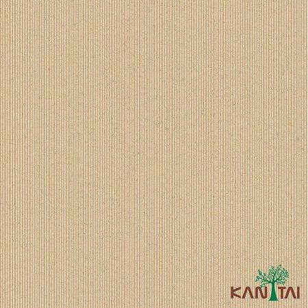 Papel de Parede Glamour Listras Marrom e Dourado - L922582R