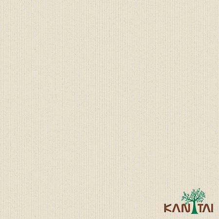 Papel de Parede Glamour Listras Marfim- GL922585R