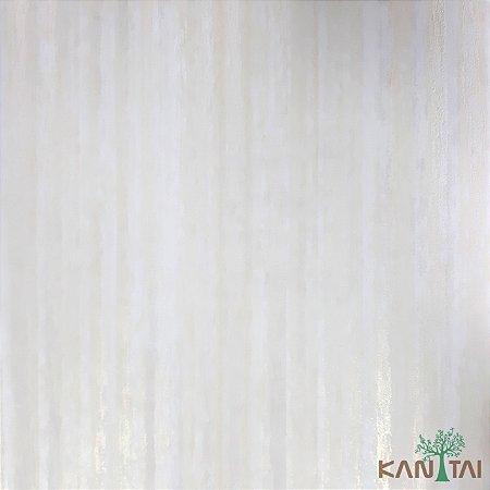 Papel De Parede Sydney 2, Mesclas Branco e dourado - SY123010R