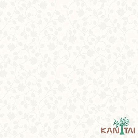 Papel de Parede Element 3 Branco Floral Cinza - 3E303601R