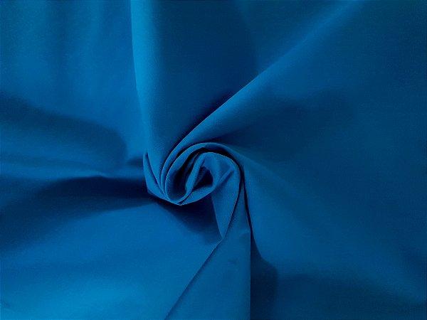 Tecido Tricoline Azul Turquesa liso 100% Algodão com 1,50 metros de largura - 2866