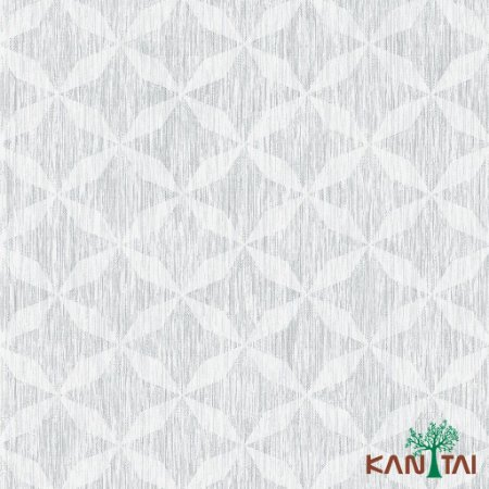Papel de Parede Milan Flora cinza  - ML981002R