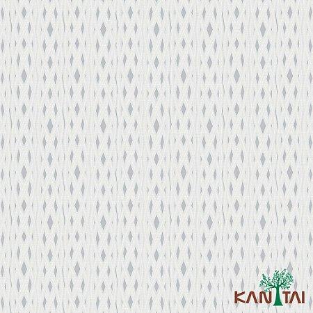 Papel de Parede Milan Diamantes Chumbo e Laços Marfim - ML981101R