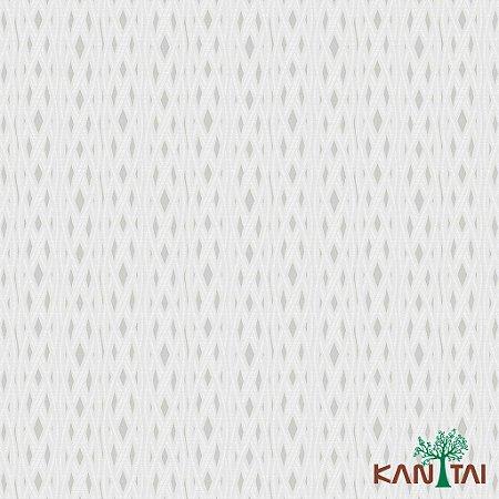Papel de Parede Milan Diamantes Cinza e Laços Marfim - ML981102R