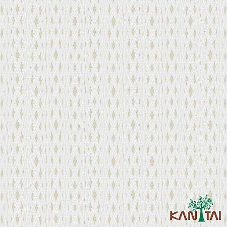 Papel de Parede Milan Diamantes Bege e Laços Marfim - ML981103R