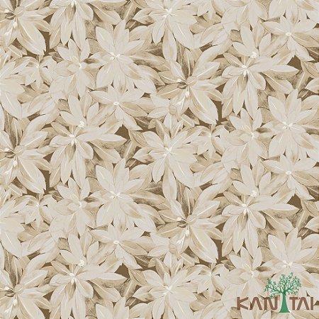 Papel de Parede Milan 2 Floral Marrom - ML982104R