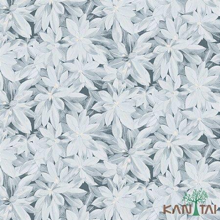 Papel de Parede Milan 2 Floral Azul - ML982105R