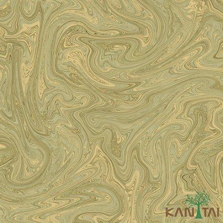 Papel de Parede Milan 2 Mistura de Tinta Dourado - ML982202R