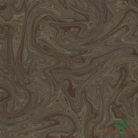 Papel de Parede Milan 2 Mistura de Tinta Marrom - ML982206R