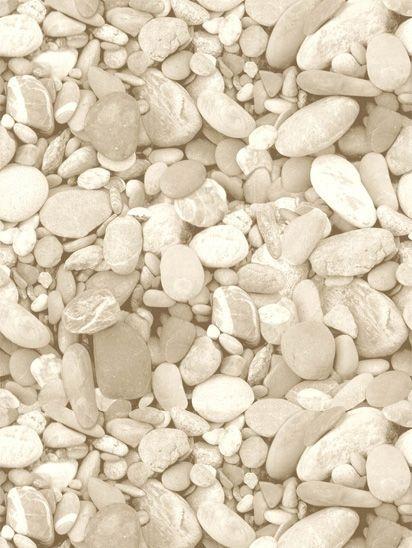 Papel de parede Pedras Redondas Jardim Areia - J996-07