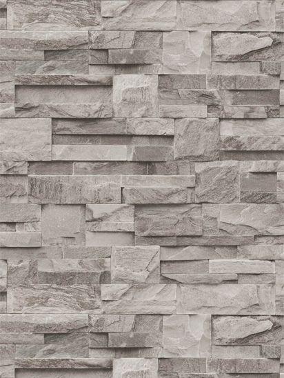 Papel de parede Predas Granitos em Cinza e Creme - J184-08