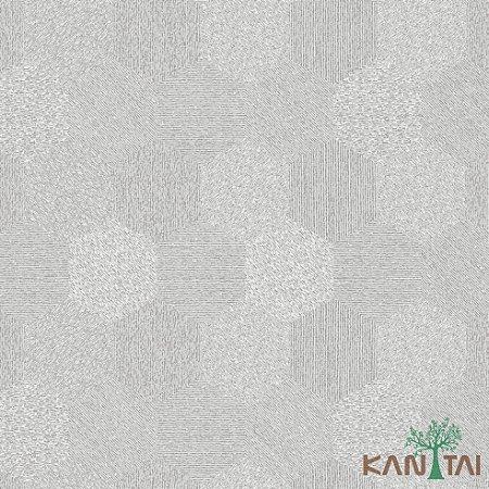 Papel de Parede Milan 2 Hexágono Prata - ML983005R