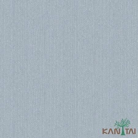 Papel de Parede Faixa Denim e Branco - ML983402R