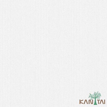 Papel de Parede Faixa Off White Branco - ML983403R